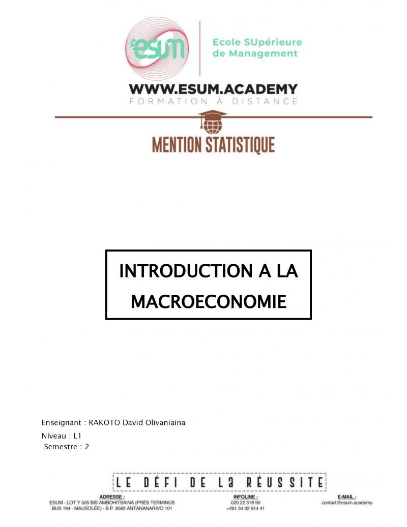 Introduction à la...